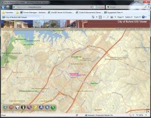 City of Buford Georgia new Flex based GIS website – Pee Dee GIS